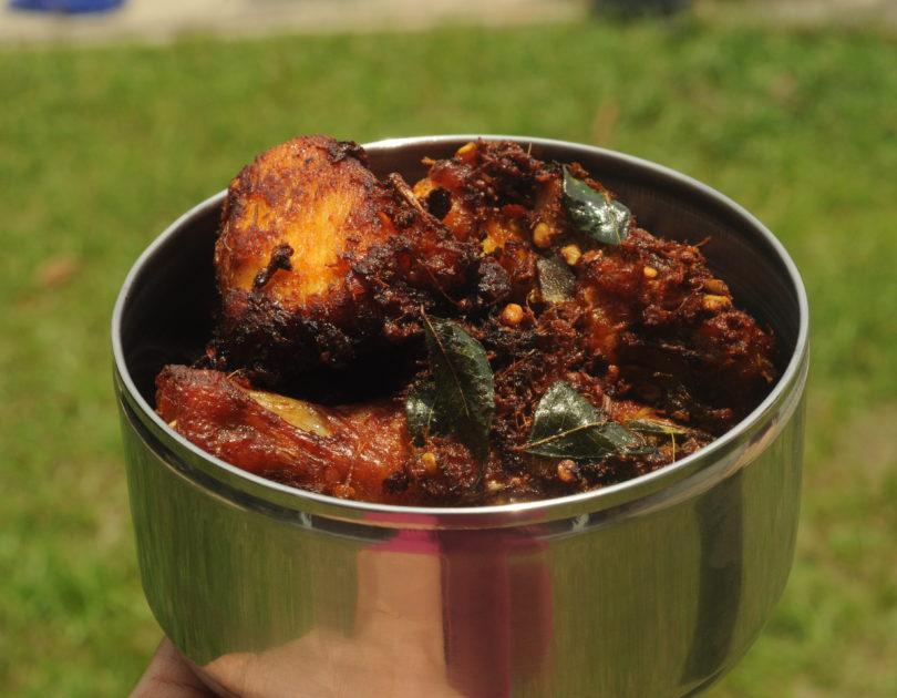 Ayam Goreng Rempah (Malaysian Spice Fried Chicken)