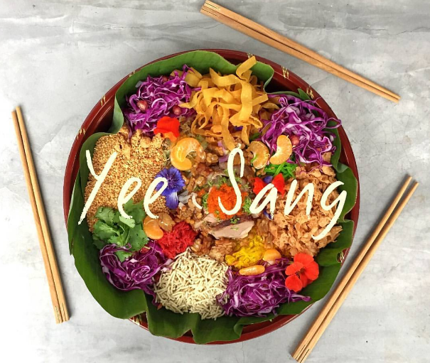 Homemade Yee Sang (Prosperity Toss Salad)
