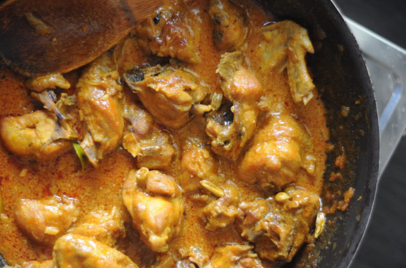 Bloody Malaysian Chicken Curry