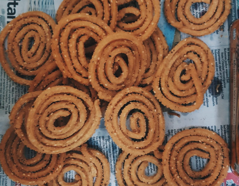 Homemade Murukku