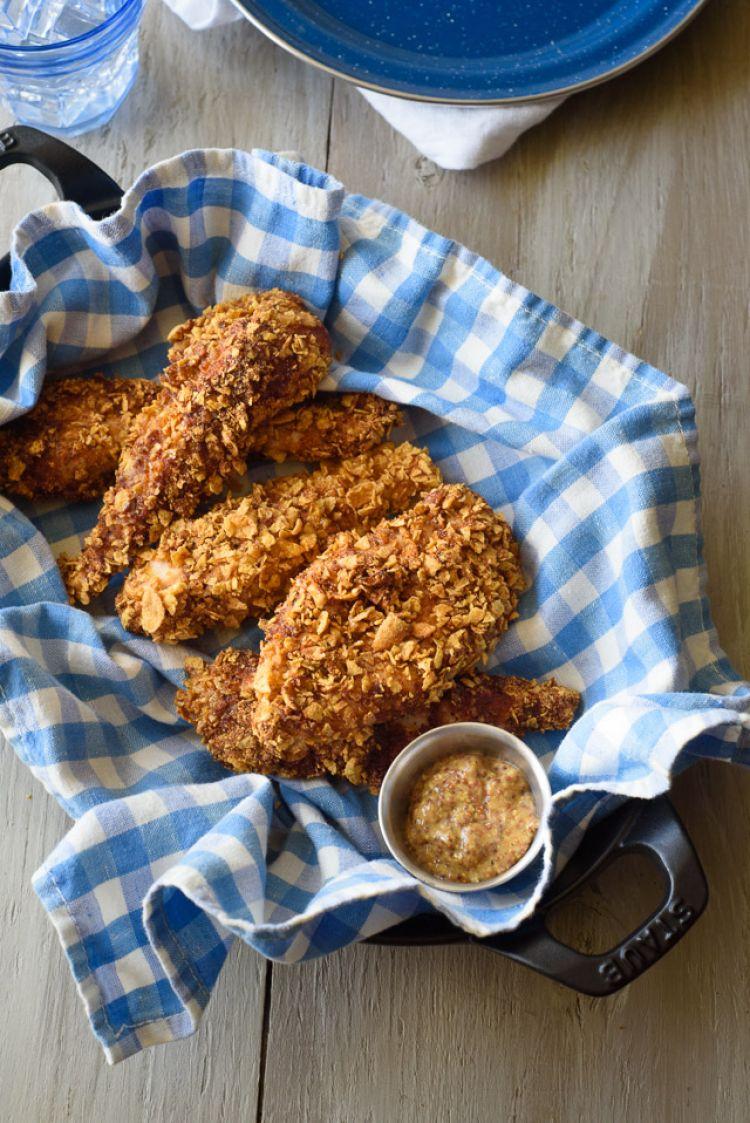 Cornflake Nestum Butter Chicken