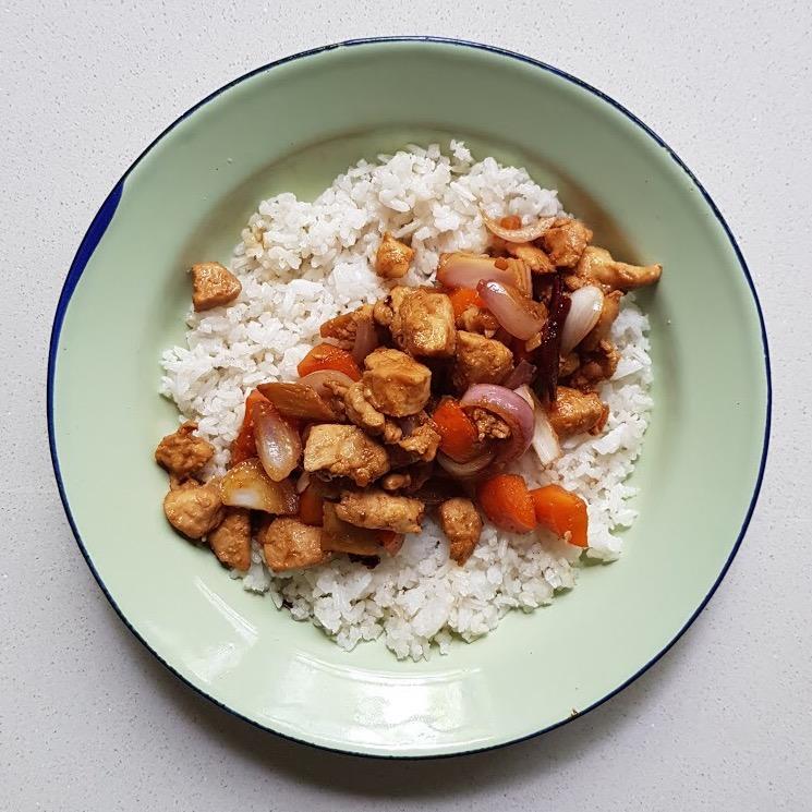 Skinny Kung Pao Chicken