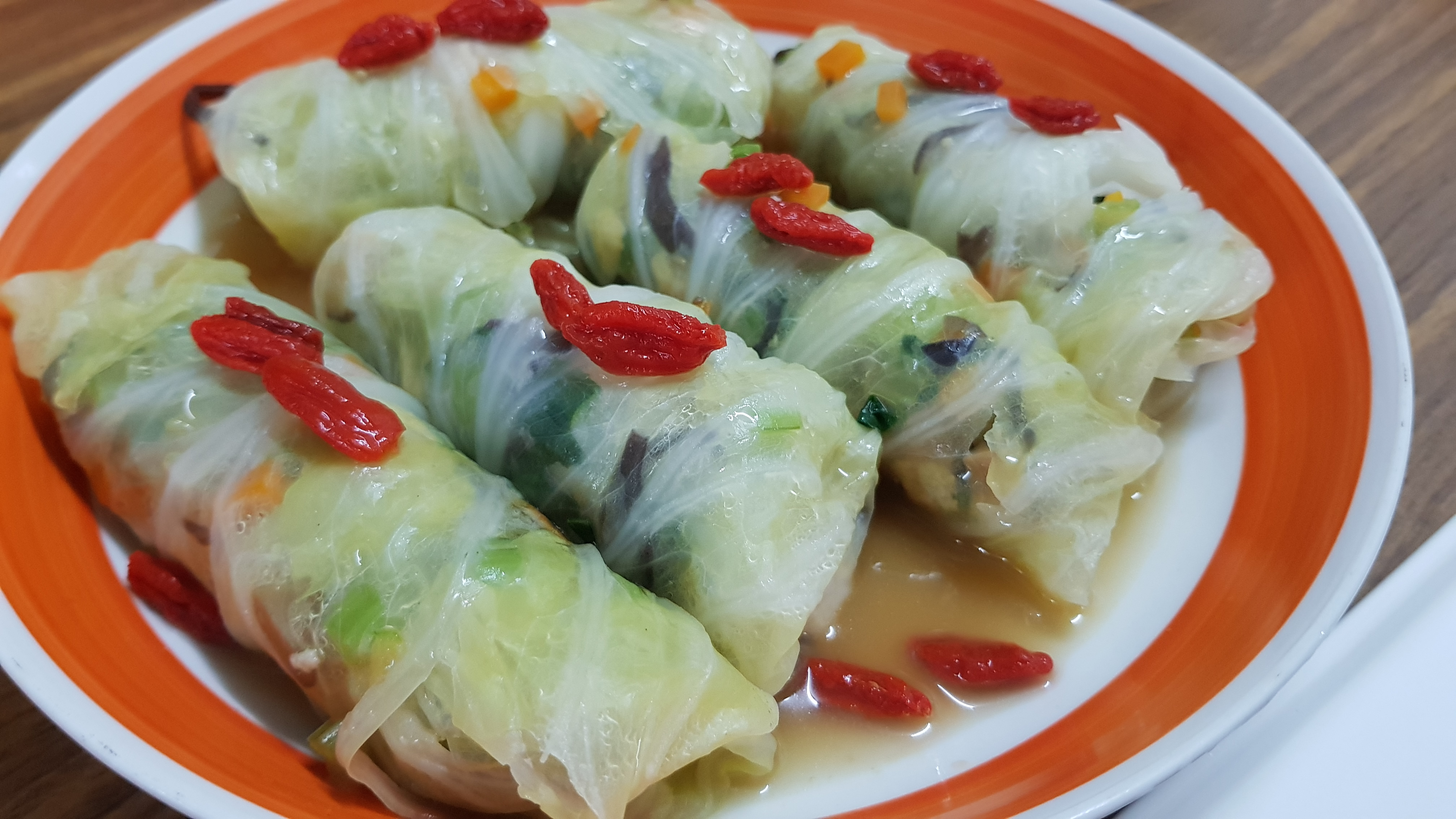 Prosperity Cabbage Roll – dish by ili (2)