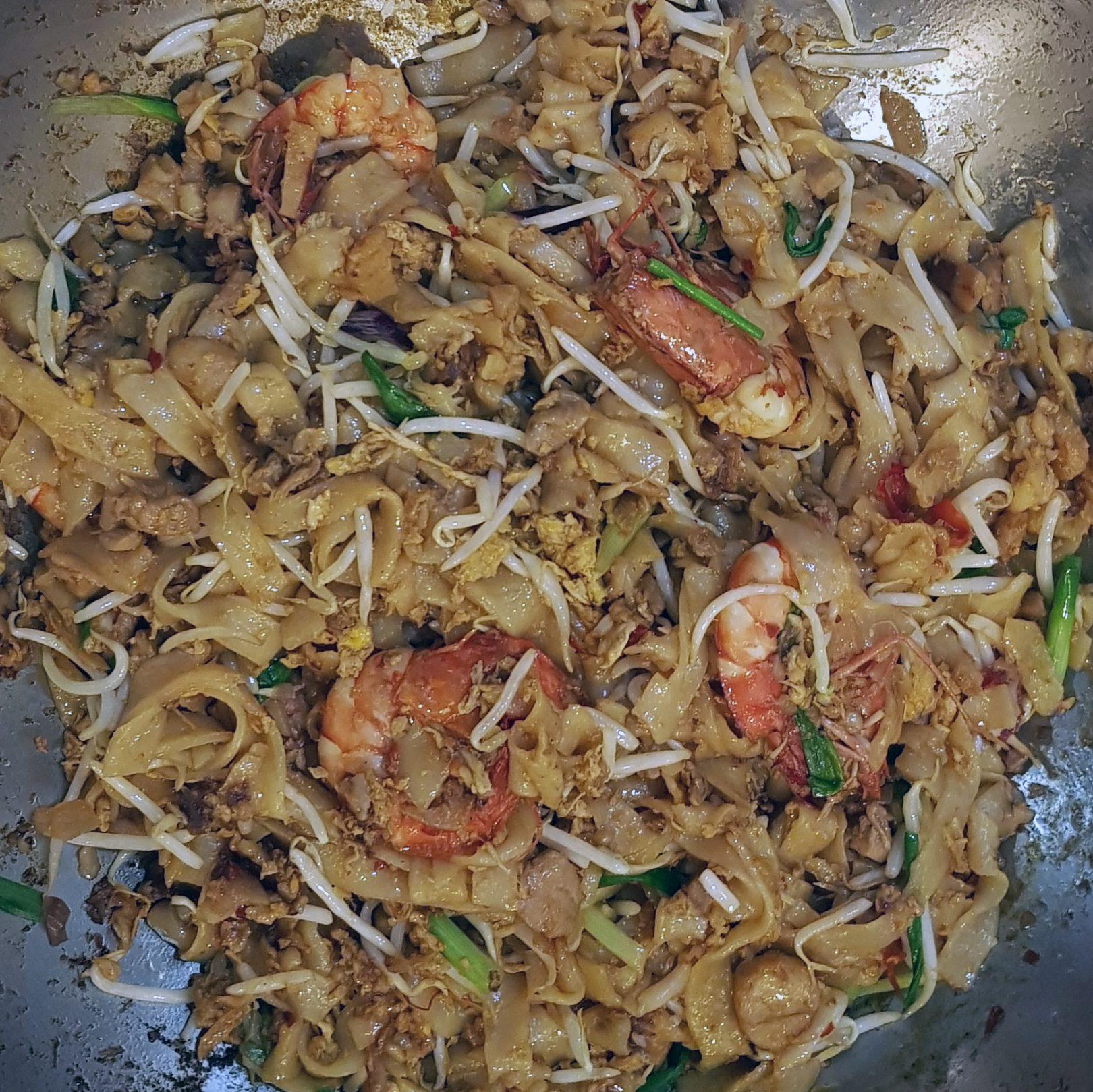 Penang style Char Kway Teow