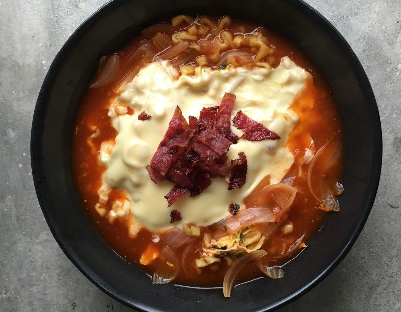 Spicy Cheese Ramen