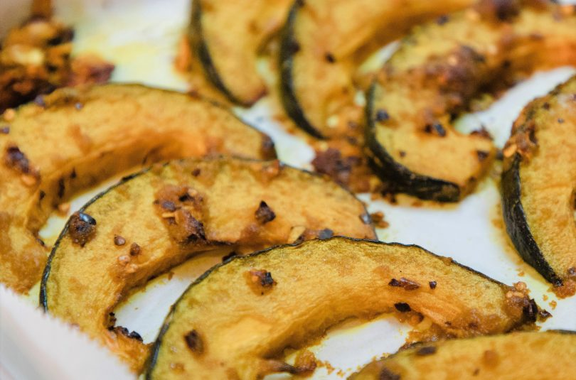 Roasted Spicy Pumpkin