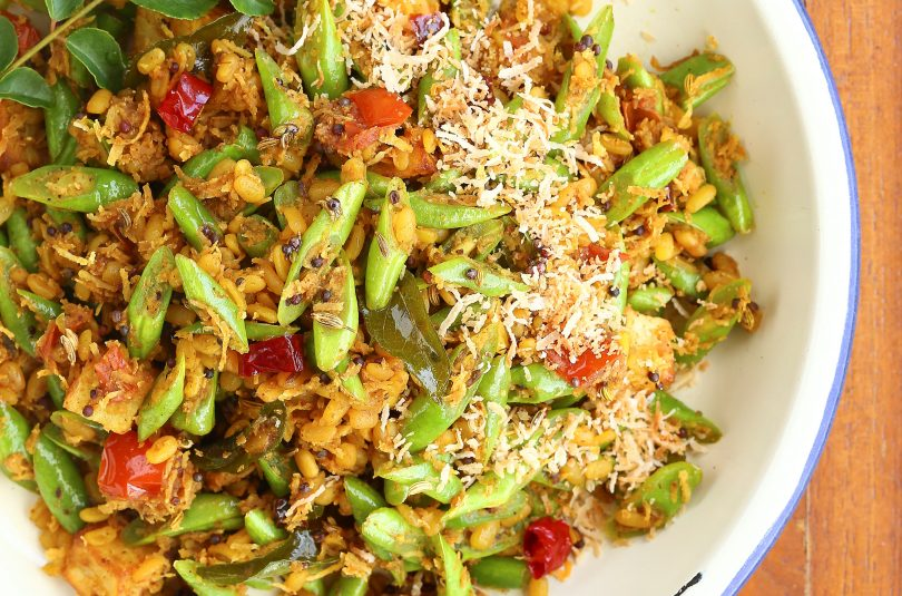 Green Bean Coconut Sambal