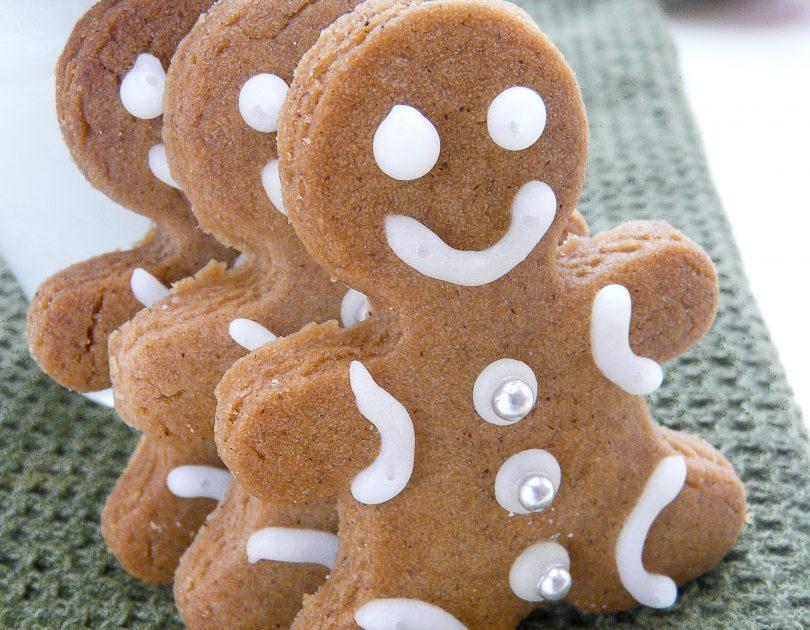 Festive Gingerbread Man