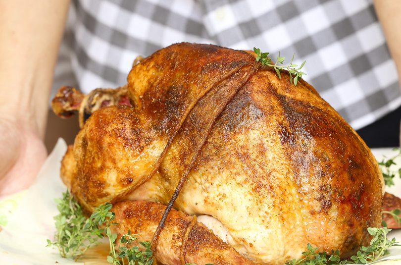 SPICE RUBBED ROAST TURKEY