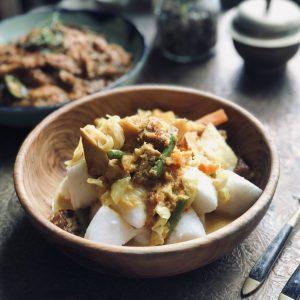 Vegetarian Lontong
