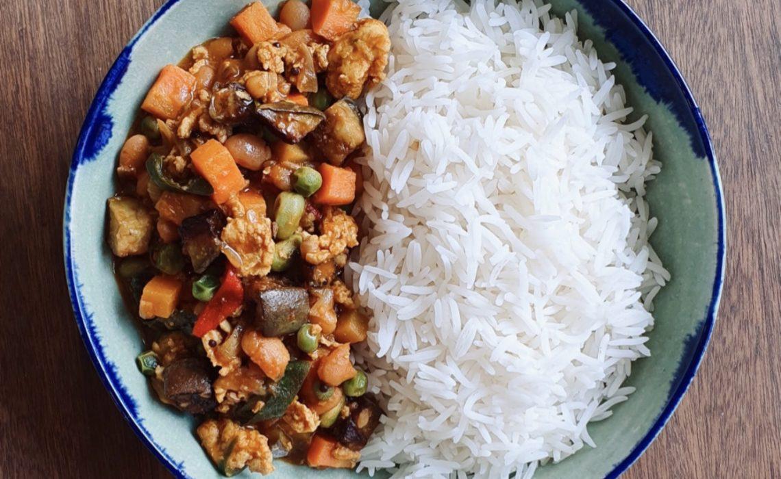 Bake Bean Chicken Curry