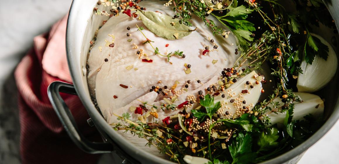 Roast Turkey: How to Brine a Turkey