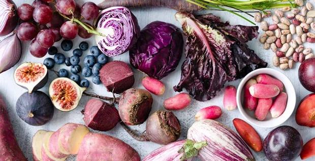 Eat the Rainbow: Purple Foods