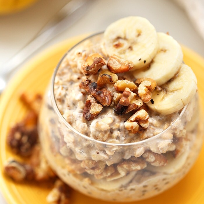 Chocolate and Nut Overnight Oats
