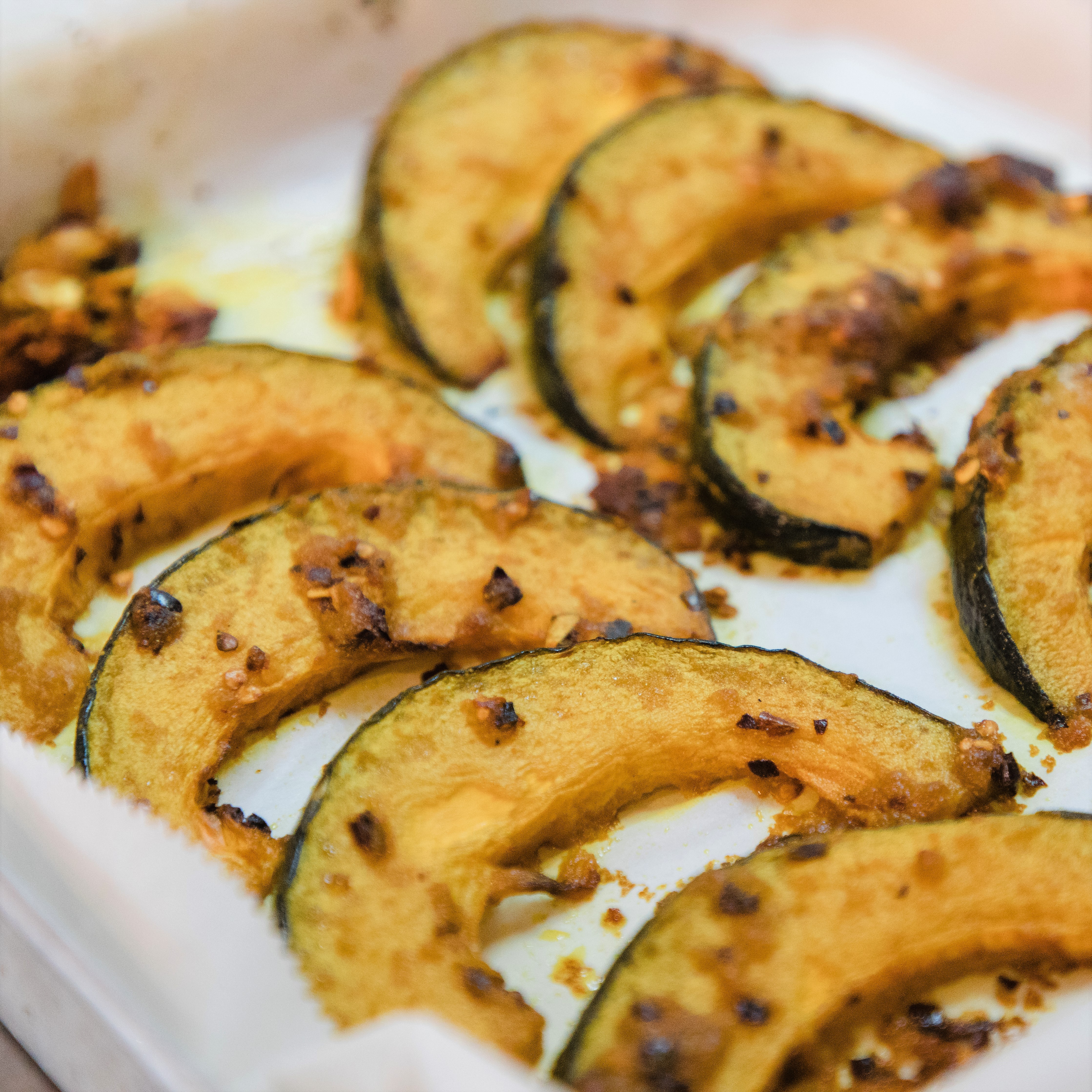 Seriously Delicious Roasted Spicy Pumpkin