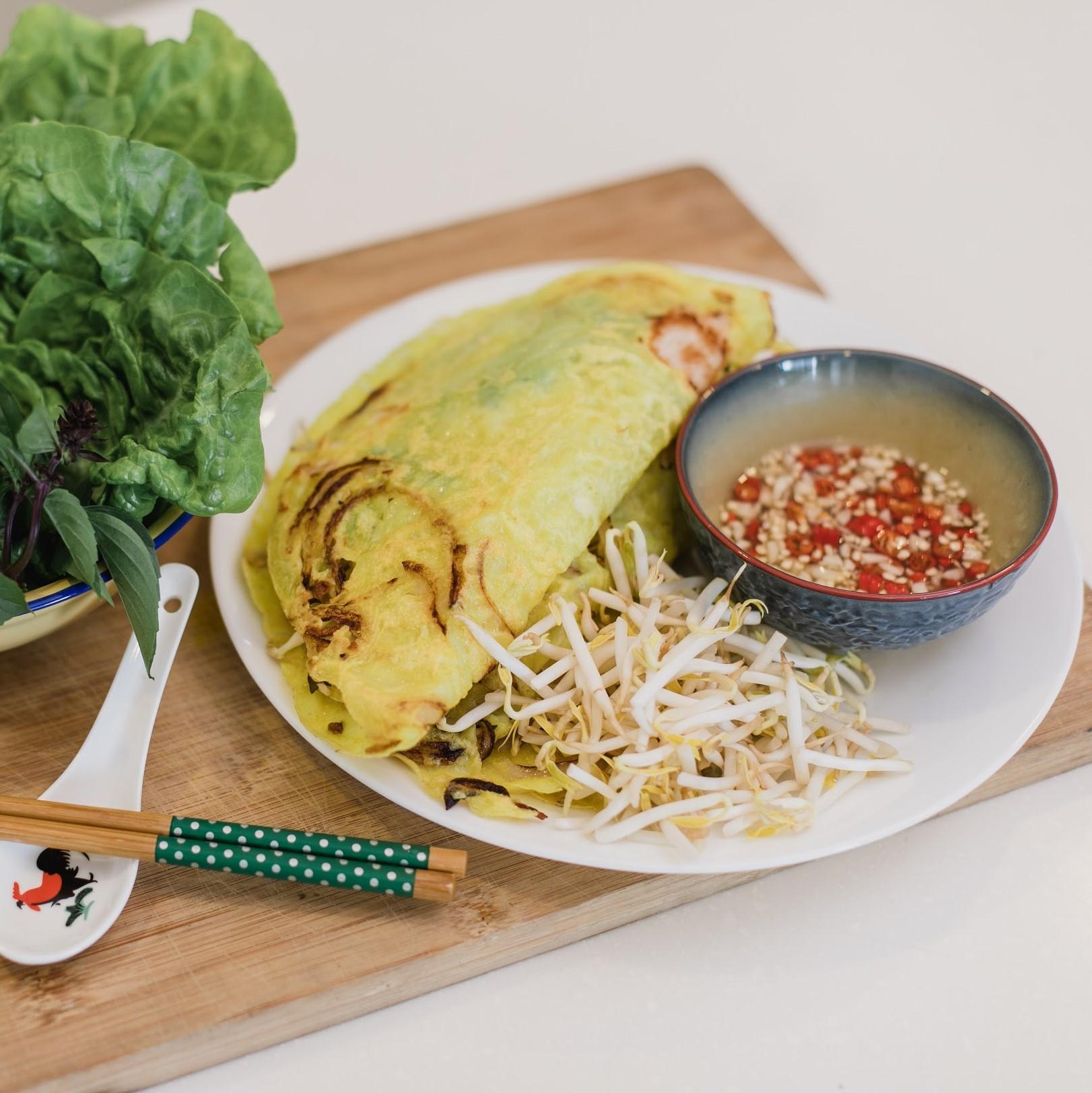 Vietnamese Bhan Xeo