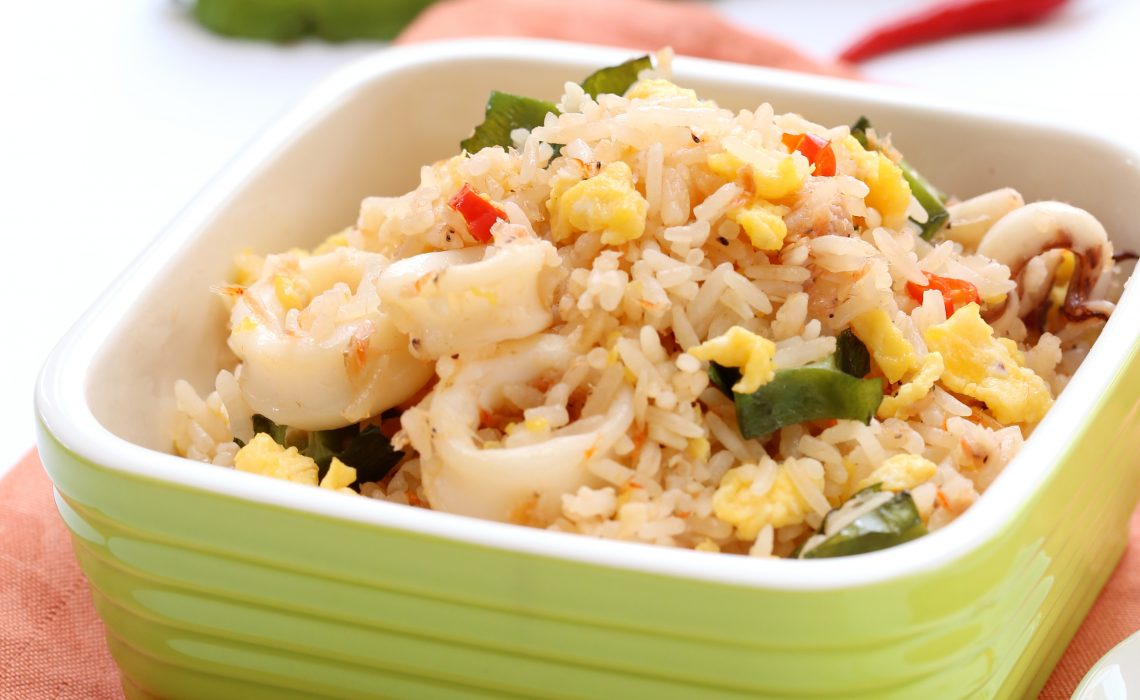 Cincalok Fried Rice