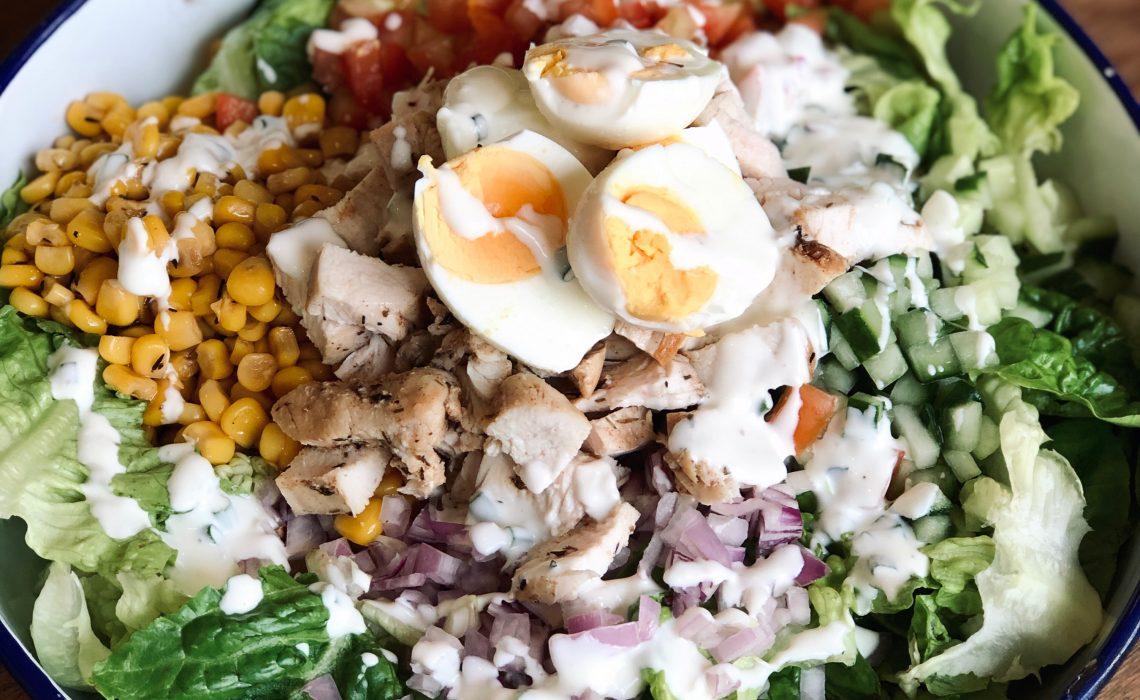 Healthy Sunday Brunch Salad