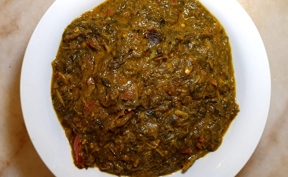 Pulicha Keerai Recipe